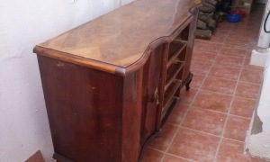 Restauración del viejo buffet de la abuela Amparo